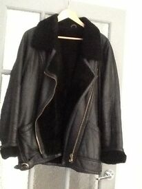 Real Leather Jacket £50 Ono ,,,,,,,,