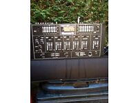 Numark 1720 Stereo Mixer 5 Channel.