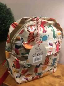 Animal themed mini backpack