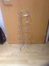 6 bottle wine rack - wall mountable