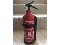 1Kg Powder Fire Extinguisher - Unused - Ideal for caravans