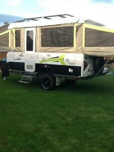 Jayco Outback Swan off-road camper trailer 2015 Andrews Farm Playford Area Preview