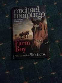 Micheal Morpurgo Farm Boy The sequel to War Horse Book
