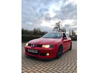 ++ 2003 SEAT LEON CUPRA R 265 BHP ++ LOWERED ++ EXHAUST SYSTEM ++REMAPPED ++ LOW MILEAGE ++ P.X