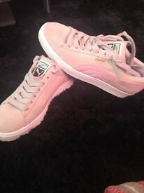 Womens Puma Suede trainers