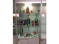 Excellent condition glass units.