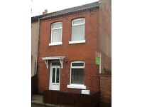 END OF TERRACE HOUSE FOR SALE ! WREXHAM.