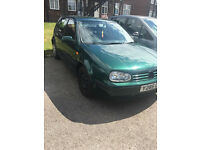 Vw Golf in Good condition for quick sale