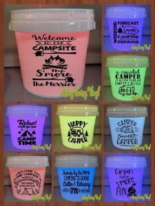 Custom led camping bucket lights!