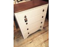 Lovely Painted Chest of Drawers.