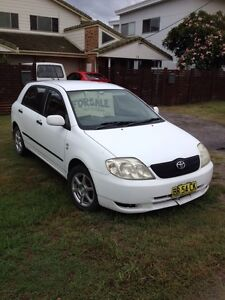 2002 Totota Corolla Yamba Clarence Valley Preview