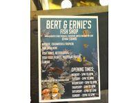 Bert & Ernie's Fish Shop SK56DA