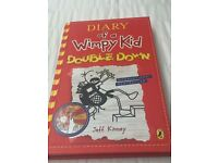 Diary of a wimpy kid & christmasaurus books