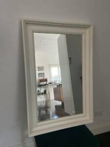 White Hemnes Mirror