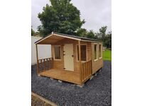 WOODEN GARDEN SHEDS PLAY HOUSES STORAGE BOXES DOG KENNELS HEN ARKS RABBIT HUTCHES