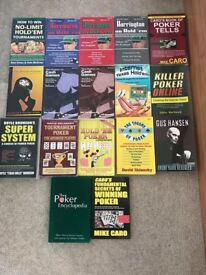 Poker books! £20 for all