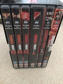 various tv series boxsets, movies dvds