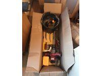 Tools For Building DIY & Plastering Very Little Use Plasterer Tool Kit, Level, Hammer, Hawk,Trowel