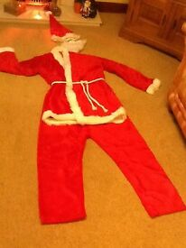 Deluxe 5-piece Santa Suit