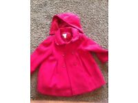 Age 2-3 red Monsoon coat