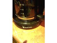 Russell Hobbs Electric percolator and Krups Coffee grinder