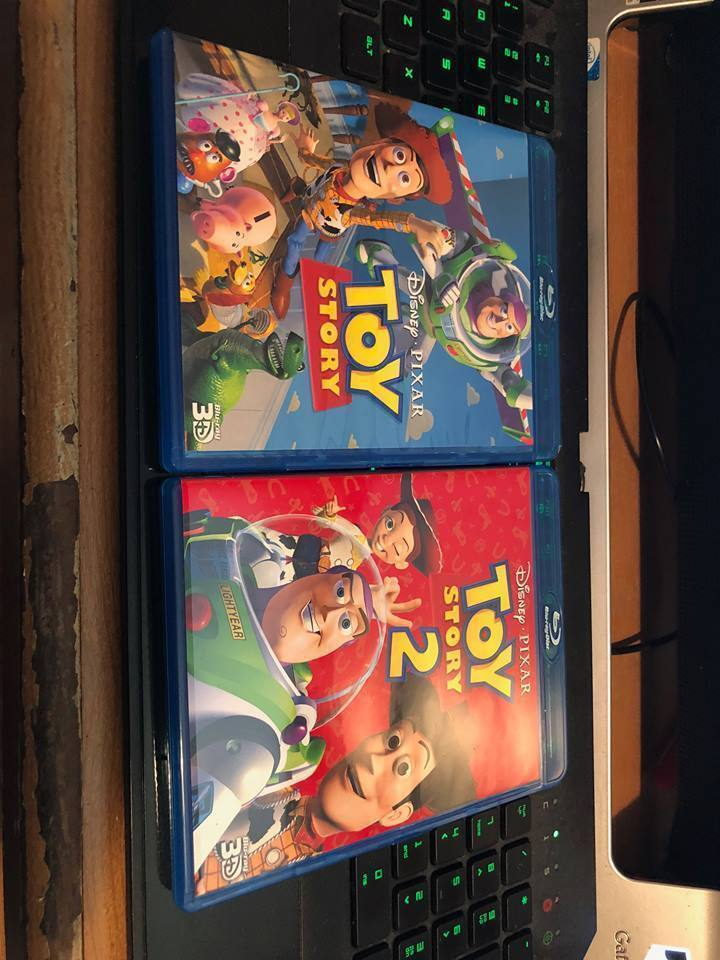 Toy Story 1 and 2!!FREE FAST SHIPPING!!!!!