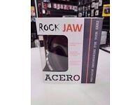 ROCK JAW ACERO HEADPHONES WITH RECEIPT