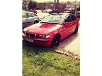 For sale bmw 318i yr.02