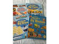Set of Usborne transport books