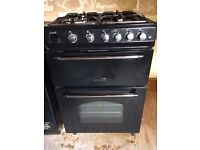 RANGEMASTER gas double oven cooker 2 years old