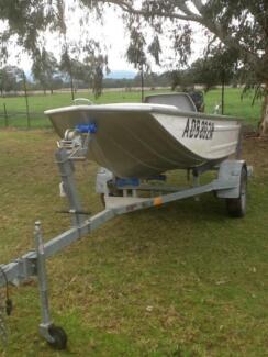Tinny savage boat and motor