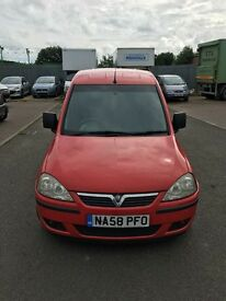 58 plate Vauxhall combo van 1.7 cdti full history new engine clean van