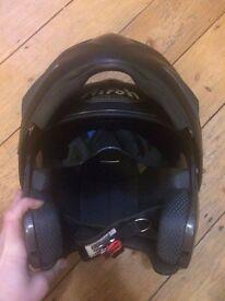 Airoh helmet with sun shield- good condition. E3. xxl