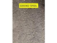 Topsoil turf and aggregates
