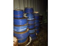 Reels of Fibre Optic Cable - Various Lengths £25 for all Reels.