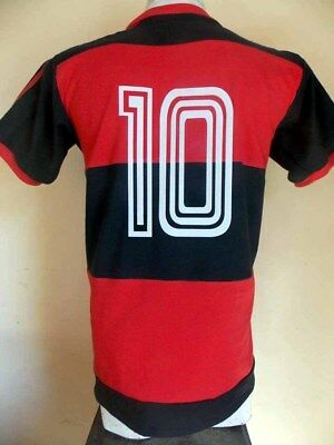 - FLAMENGO Champion 1981 Vintage Jersey REPLICA - All Sizes !! Brazil