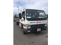 Mitsubishi Canter Crew Cab Recovery Lorry