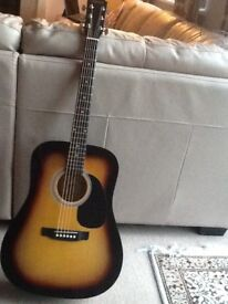 Fender Squire SA-105 Acoustic Guitar. Reluctantly downsizing my Guitar collection.