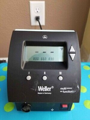 Weller Wd1m Single Channel Digital Solder Rework Station 120v 160w