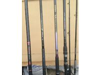 4 beachcaster rods