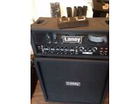 laney Ironheart IRT120h Amp And IRT412 Cab