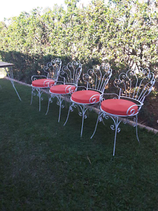 RECYCLED  OUTDOOR VINTAGE CHAIRS 275 Upper Caboolture Caboolture Area Preview