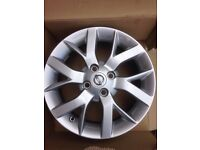 4x Nissan Micra 15 inch alloy wheels