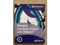 Brand new PRINCE2 2017 Exam Study Workbook -2018 edition