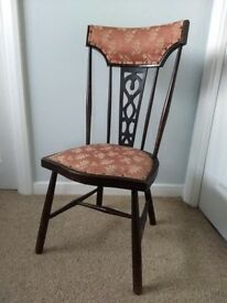 Pretty Antique Victorian Chair