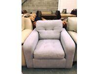 High retail lilac fabric chair