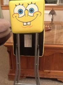 Sponge bob folding chair