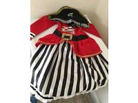 Girls Pirate fancy dress age 5-6 years £4 collection from Shepshed. (or can post)