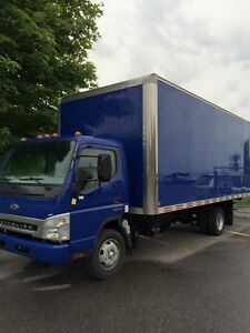 2008 Sterling Fuso 20' straight truck cab over