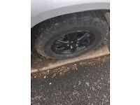 Desert track tyres